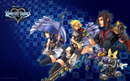 Kingdom Hearts Birth by Sleep - aqua, kingdom hearts, ventus, terra