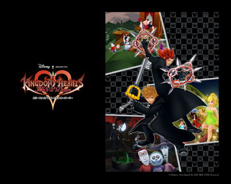 kingdom hearts - organitation 13, axel, roxas, kingdom hearts