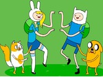 ADVENTURE TIME WITH FINN FIONNA JAKE AND CAKE