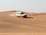 land cruiser in the deserts
