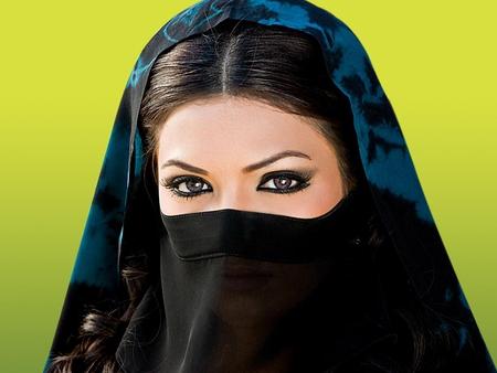 ISLAMIC EYES - beauty, brunette, eyes, islamic