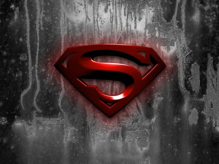 Black Superman Logo Wallpaper Black Superman Logo Wallpaper