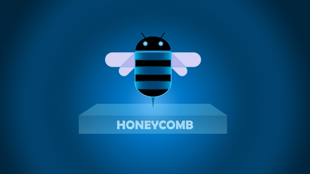 Honeycomb box - logo, honeycomb, os, android