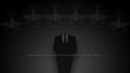 We Are Anonymous - anonymous, hackers, net, expect