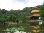 Kinkakuji (The Golden Pavilion) in Kyoto, Japan