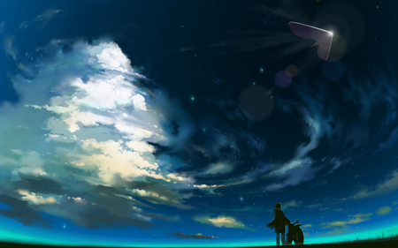 Night Sky Other Anime Background Wallpapers On Desktop Nexus Image 761726