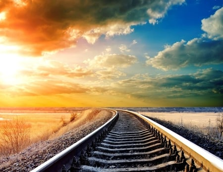 Railroad - other, railroad, beautiful, technology