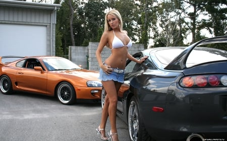 Who is the toyota supra girl