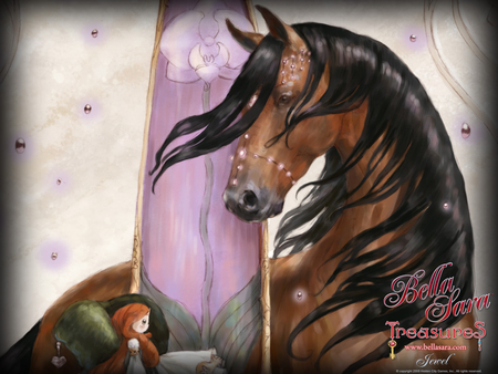 Bella Sara Treasures 2 - fantasy, magic, horses, animals