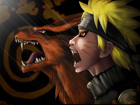 Naruto - naruto, tv show, anime, new, evil side, 2011, wall, classic