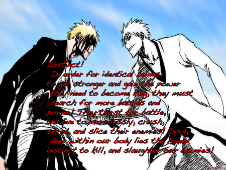 Ichigo Vs Ichigo - bleach, anime