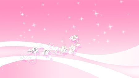 Pink stars swish other abstract background wallpapers on desktop pink stars swish pink background curve flowers swish gradient mightylinksfo
