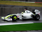 Jenson Button in Brawn