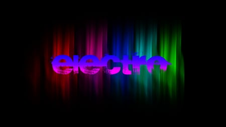 Electro Wallpaper (colored) - 3D and CG & Abstract Background ...