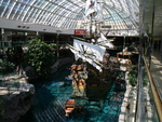 Ship Wrecks Santa Maria at West Edmonton mall Alberta 02