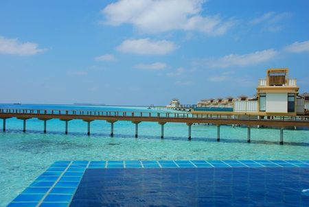 Blue Waters - oean, villa, pool, blue