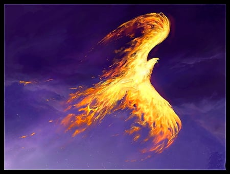 Phoenix Eagle Fantasy Abstract Background Wallpapers On Desktop