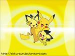 Pikachu and Pichu's