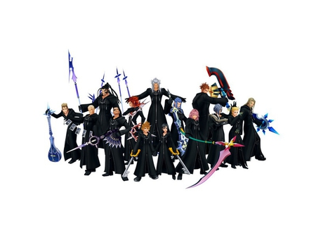 THE ORGANIZATION - 13, organization 13, kh, kingdom hearts