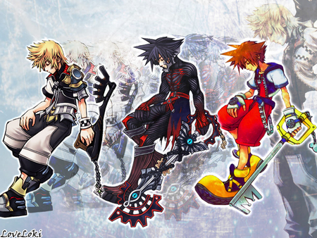 DIVE INTO YOUR HEART - sora, kh, ventus, kingdom hearts, ven
