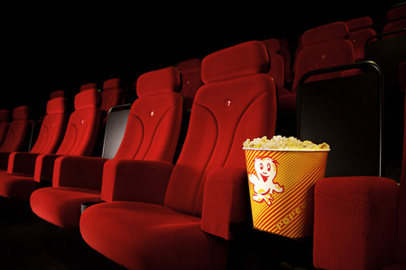 Popcorn And A Movie Theater 3d And Cg Abstract Background Wallpapers On Desktop Nexus Image 772721