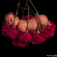Naked Baby Model