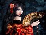 Dark geisha