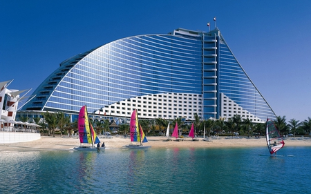 Jumeirah-Beach-hotel - beach, hotel, beautiful, jumeirah, picture
