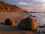 Moeraki at Sunrise