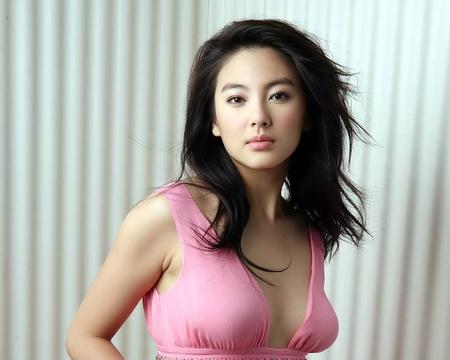 Asian model photo woman