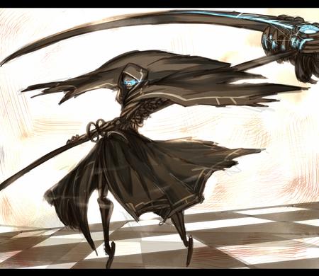 Grim reaper other anime background wallpapers on - Anime scythe wallpaper ...