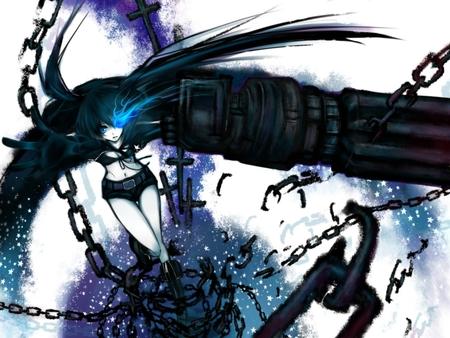 Black Rock Shooter Other Anime Background Wallpapers On Desktop
