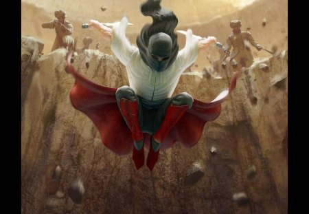 Hawk of the Hills - persia, cg, ninja, assassin, persian, adventure, enemy, action