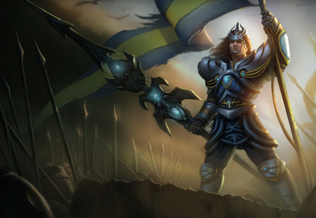 League of Legends - Jarvan IV - league, legends, iv, riot, jarvan, jarvan iv