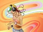 Girl Hip Hop Dancing