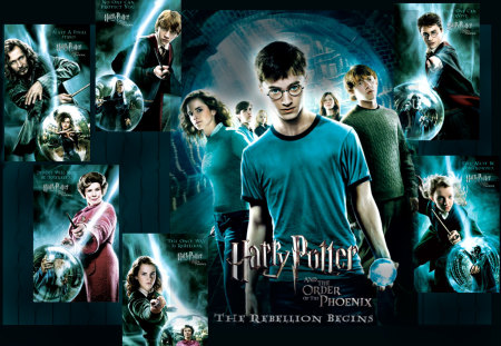 Order_of the phoenix - potter, hermione, movie, phoenix, hollywood, ron, harry, cool, hit, order