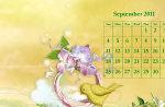 Chick Chick Sept 2011 Calendar