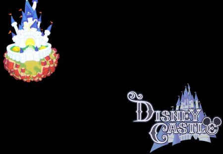 Disney Castle (KHII) (KH2) - world, khii, logo, disney castle, kh2, kingdom hearts 2