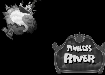 Timeless River (KH2) (KHII) - world, khii, logo, kh2, timeless river, kingdom hearts 2