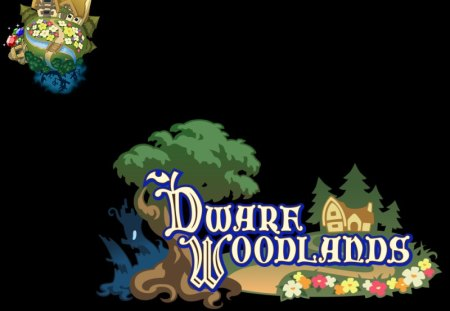 Dwarf Woodlands (BBS) - birth by sleep, world, logo, kingdom hearts birth by sleep, kh, bbs, dwarf woodlands