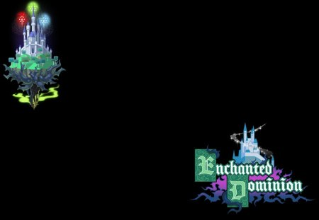 Enchanted Dominion (BBS) - birth by sleep, world, enchanted dominion, logo, kingdom hearts birth by sleep, bbs