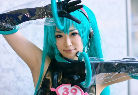 Vocaloid Hatsune Miku Cosplay I Know That Girl 1