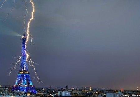 Eiffel Towergod Forces Of Nature Nature Background