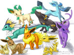 eevee eveloutions