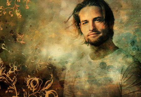 Josh Holloway - entertainment, tv series, lost, actors, sawyer, josh holloway, people