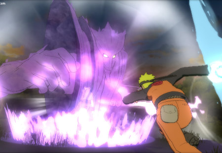 The Grand Clash - naruto, sasuke, 2012, o, storm, ultimate, susnoo, clash, wind style rasen, ninja, naruto ultimate ninja storm generations