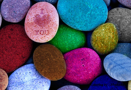 Colored Stones - zirakabd, nice stones, love, colored stones