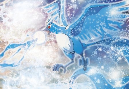 Articuno To The Sky S Pokemon Anime Background Wallpapers On Desktop Nexus Image 788807