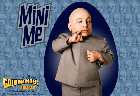 Mini Me - evil, clone, austin powers, mini