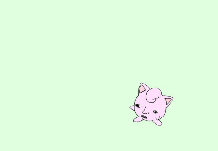 Ugly Jigglypuff Pokemon Anime Background Wallpapers On Desktop
